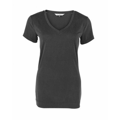 Longlady Longlady Shirt Tinie Zwart