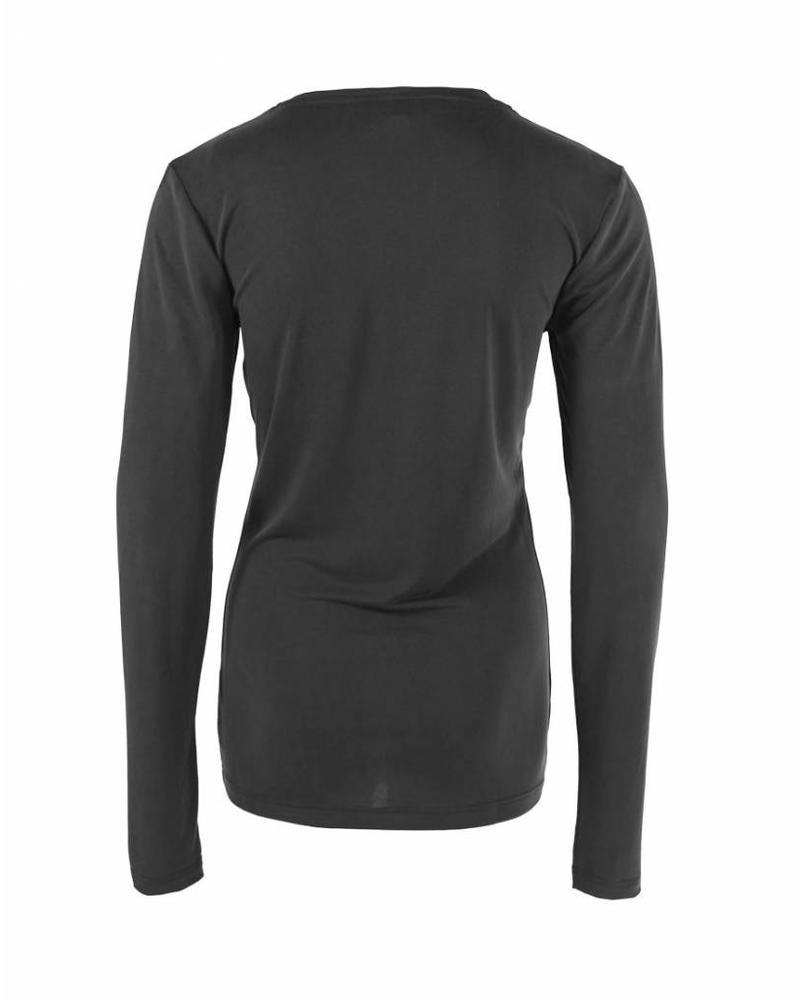Longlady Shirt Tonny Black