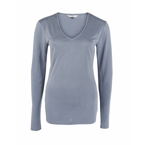 Longlady Longlady Shirt Tonny Lightblue