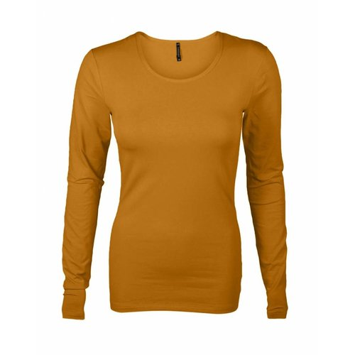 Longlady Longlady Shirt Tamilia Ochre