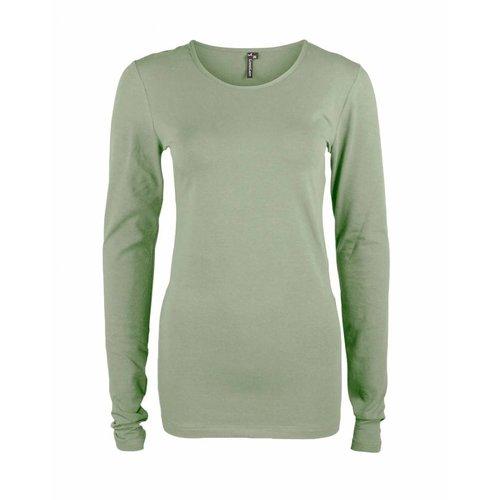 Longlady Longlady Shirt Tamilia Dusty Khaki