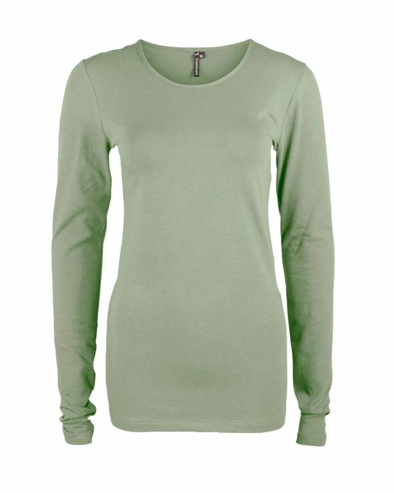 Longlady Shirt Tamilia Dusty Khaki