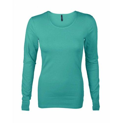 Longlady Longlady Shirt Tamilia Emerald