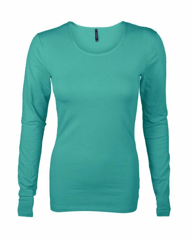 Longlady Shirt Tamilia Emerald
