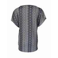Longlady Shirt Toos Blue