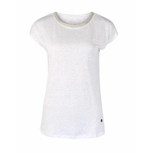 Malvin Malvin Shirt White strass