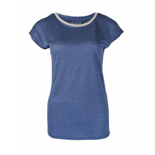 Malvin Malvin Shirt Blue strass
