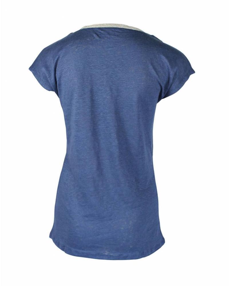 Malvin Shirt Blauw strass