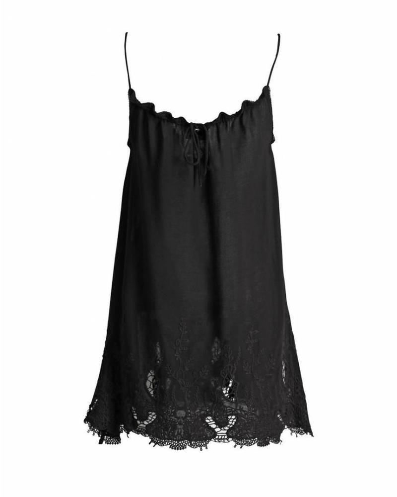 Nu-Denmark Top Lace Black