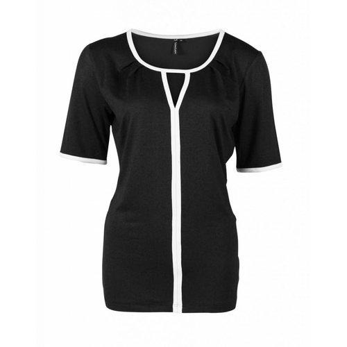 Longlady Longlady Shirt Taaike Zwart