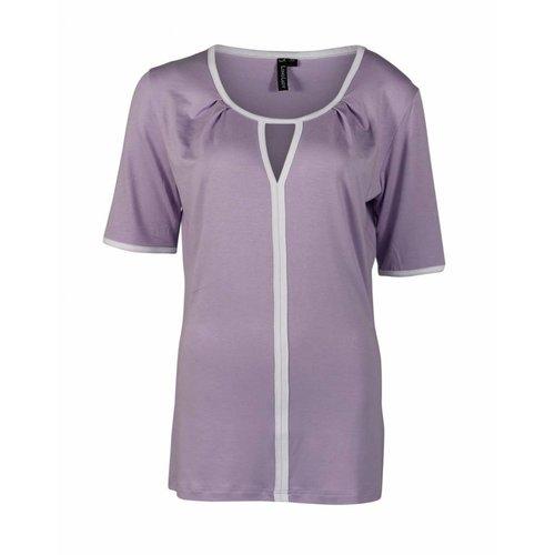 Longlady Longlady Shirt Taaike Lila