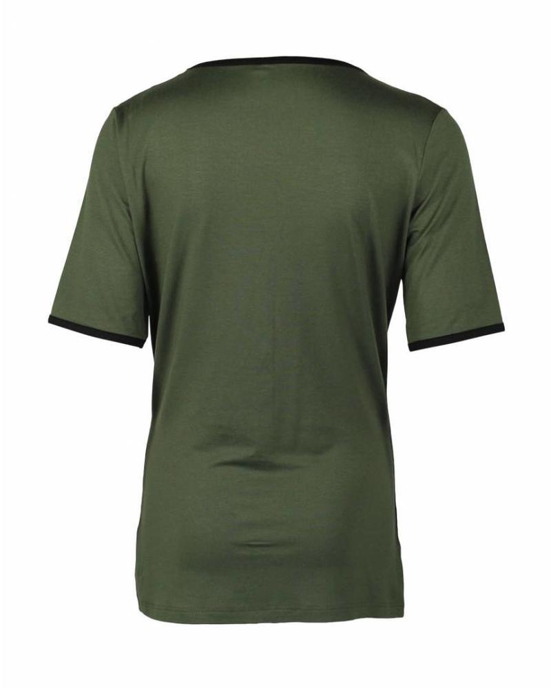 Longlady Shirt Taaike Khaki