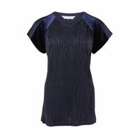 Longlady Shirt Tina Blauw