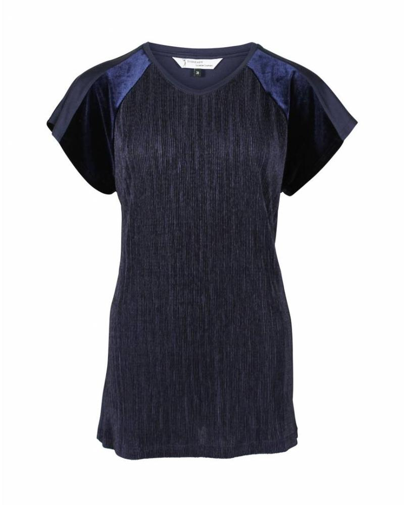 Longlady Shirt Tina Blue