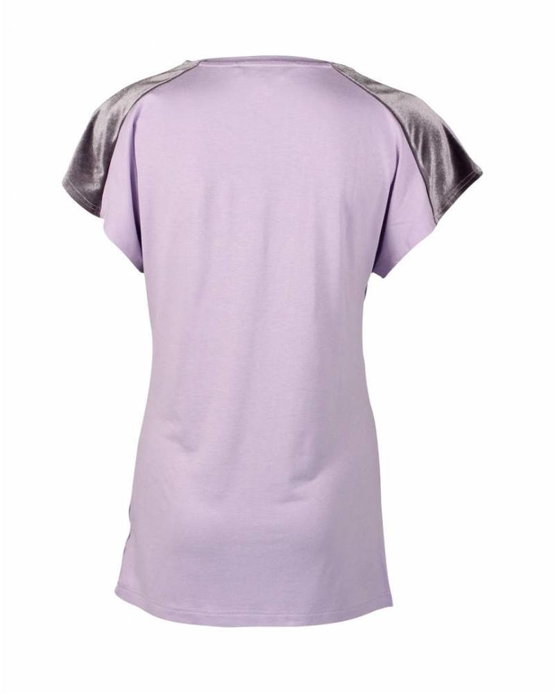 Longlady Shirt Tina Lila