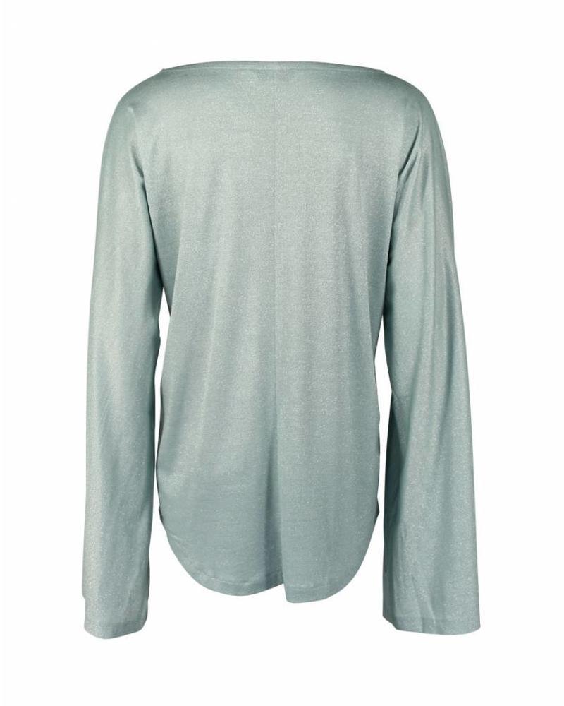 Longlady Shirt Tinky Lichtblauw