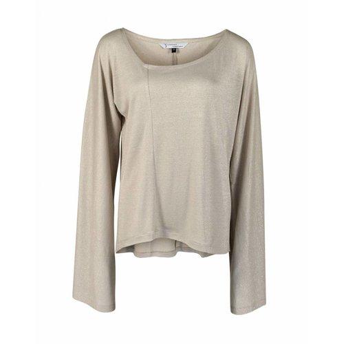 Longlady Longlady Shirt Tinky Beige