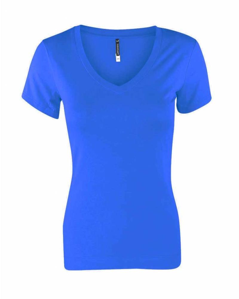 Longlady Shirt Tiny Kobalt