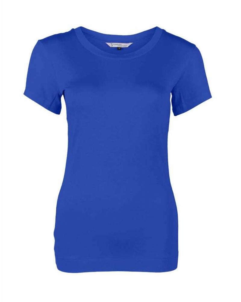 Longlady Shirt Trinka Kobalt