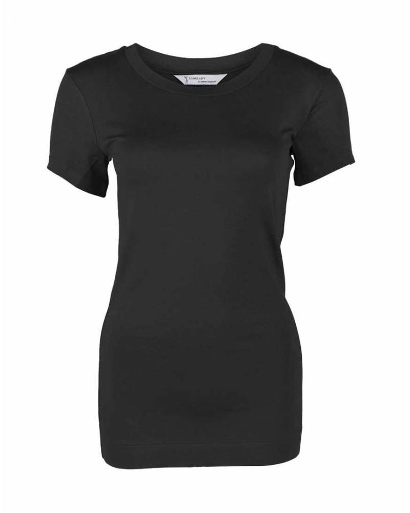 Longlady Shirt Trinka Zwart