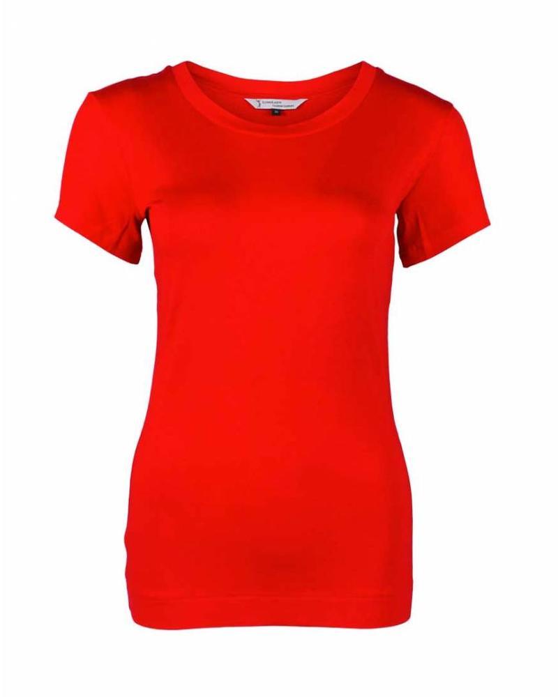 Longlady Shirt Trinka Rood