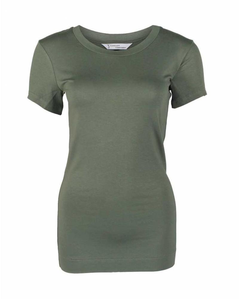 Longlady Shirt Trinka Khaki