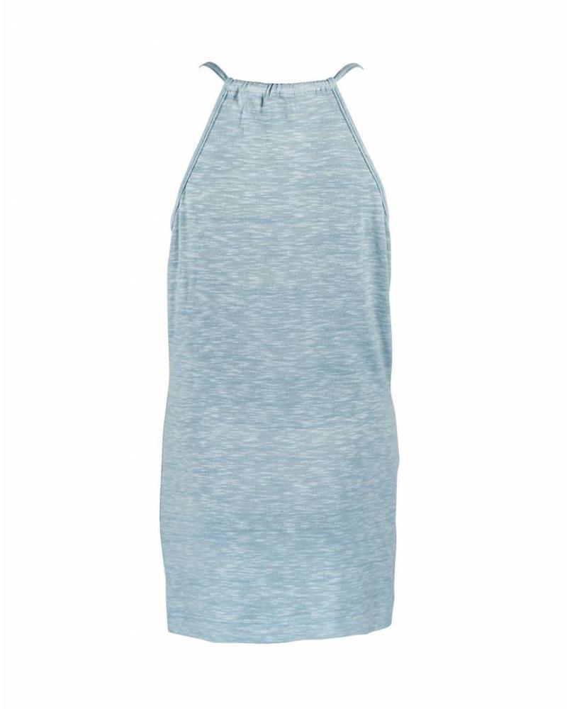 Longlady Shirt Tisha Lichtblauw