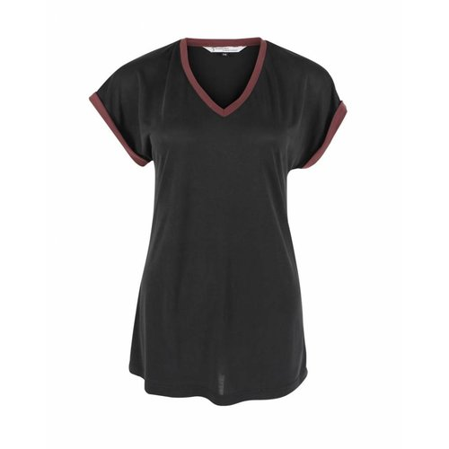 Longlady Longlady Shirt Tracy Black