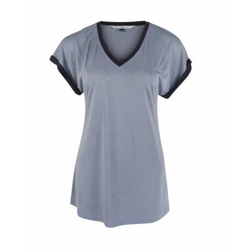 Longlady Longlady Shirt Tracy Lichtblauw