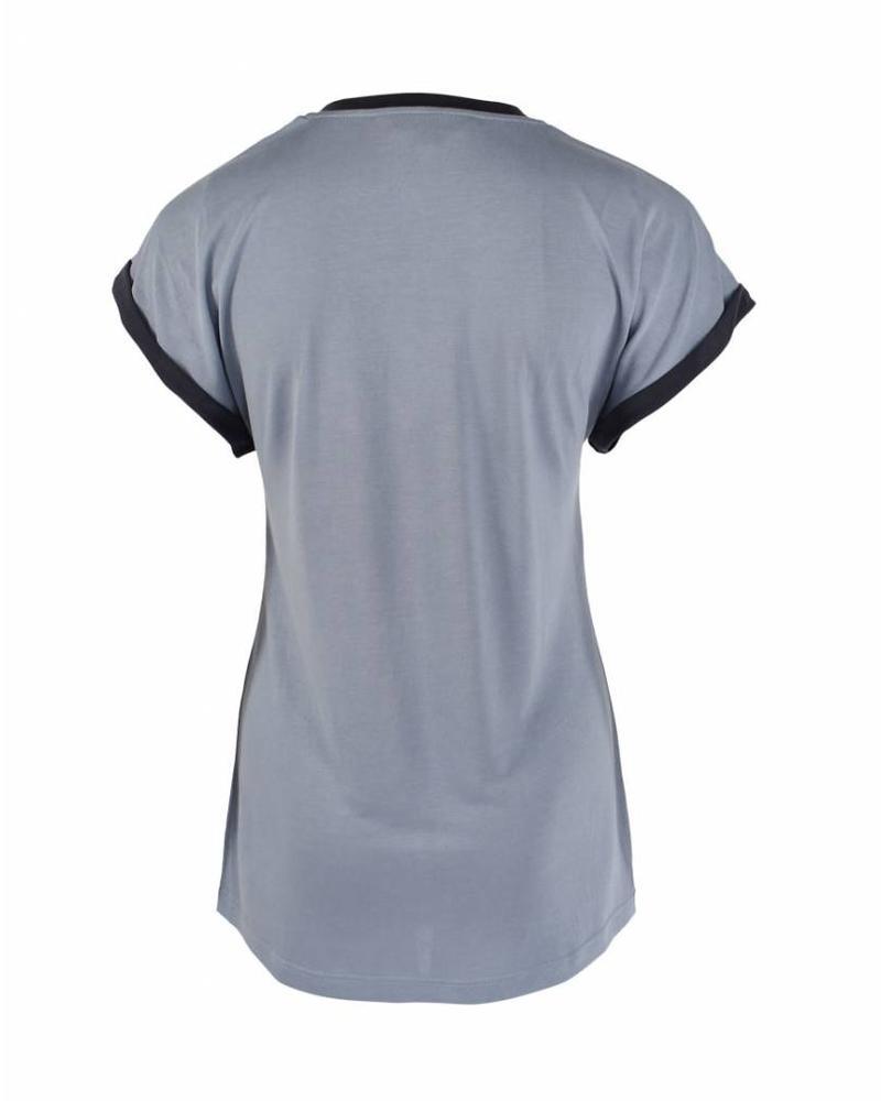 Longlady Shirt Tracy Lichtblauw