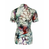 Longlady Shirt Danie Groen dessin