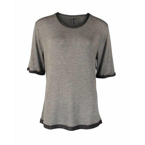 Longlady Longlady Shirt Thea Taupe