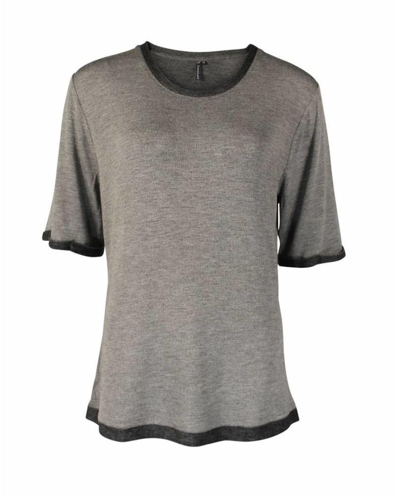 Longlady Shirt Thea Taupe