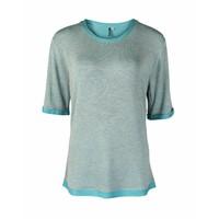 Longlady Shirt Thea Aqua