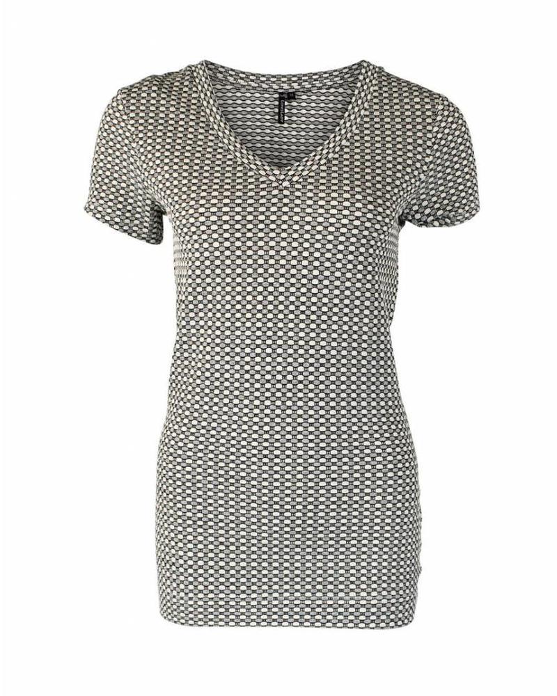 Longlady Shirt Tinie Zilver