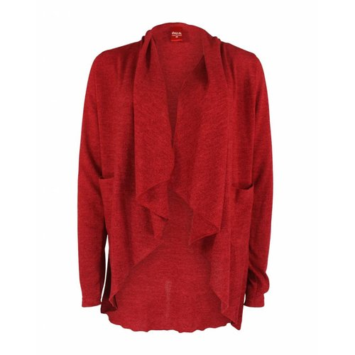 Only-M Only-M Vest Rosso
