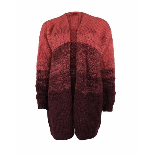 Only-M Only-M Cardigan Degrade Aubergine