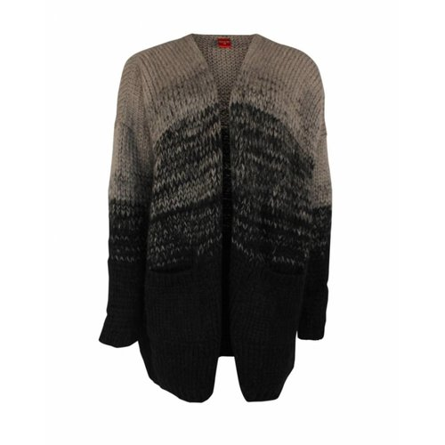Only-M Only-M Cardigan Degrade Grigio