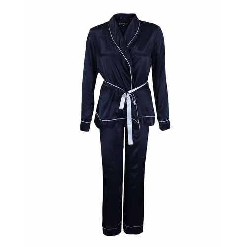 Longlady Longlady Pyjama Phoebe Donkerblauw
