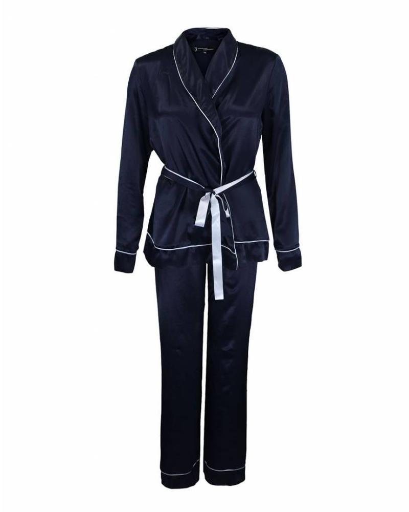 Longlady Pyjama Phoebe Donkerblauw