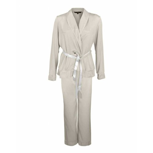 Longlady Longlady Pyjama Phoebe Beige