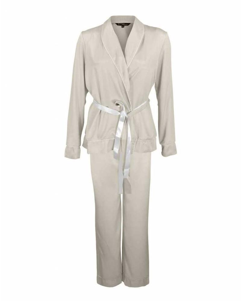 Longlady Pyjama Phoebe Beige