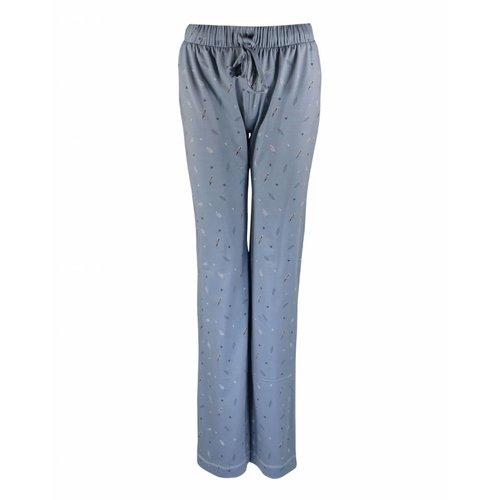 Longlady Longlady Pyjamabroek Paulien Lichtblauw Feather