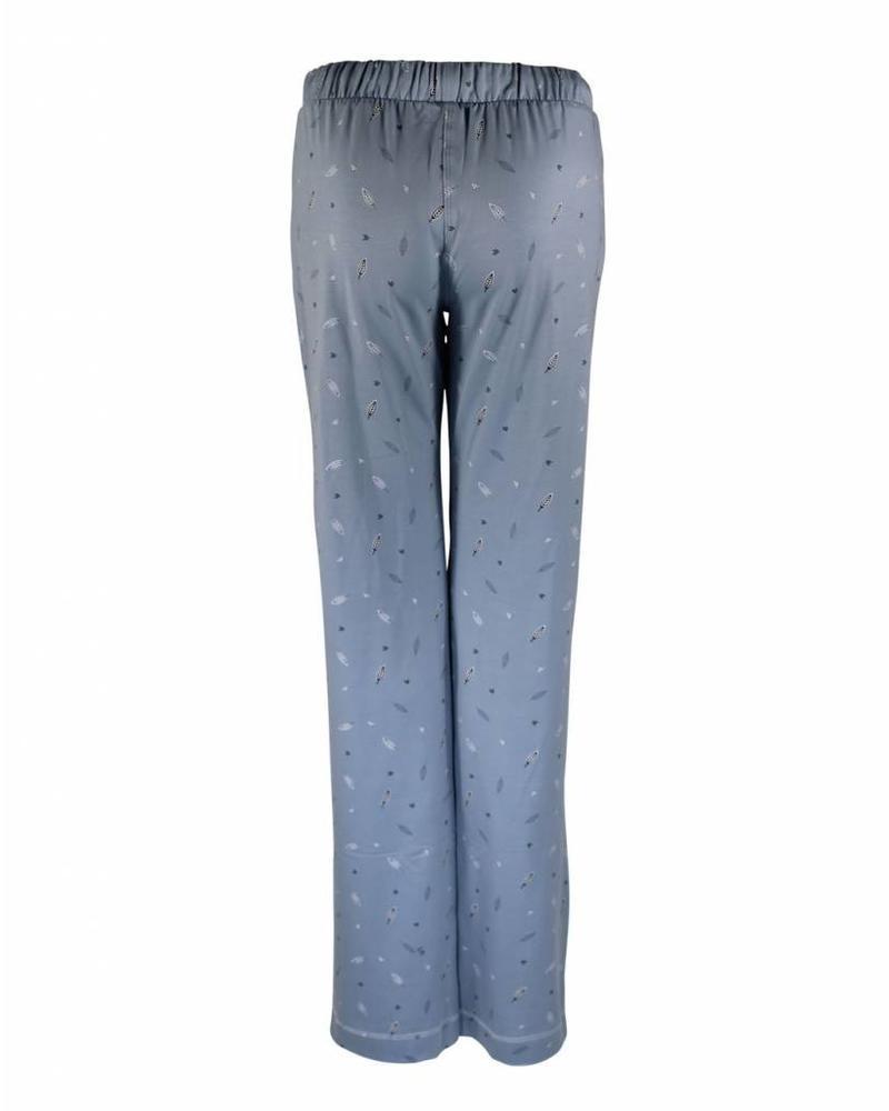 Longlady Pyjamabroek Paulien Lichtblauw Feather