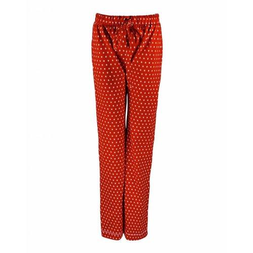Longlady Longlady Pajama pants Paulien Red Ster