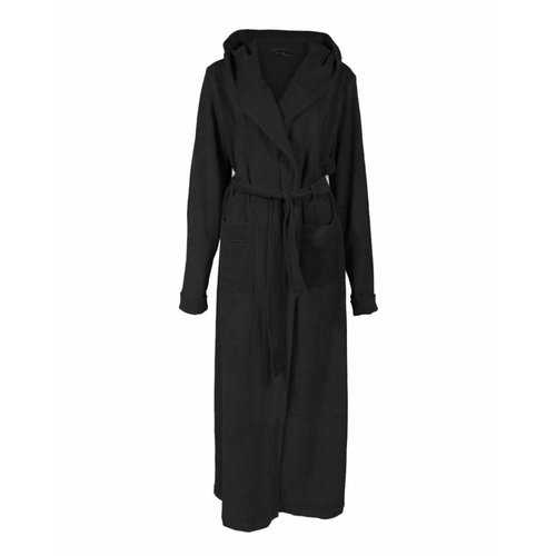 Longlady LongLady Bathrobe Henriet Black