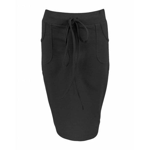 Longlady Longlady Skirt Rachel Black