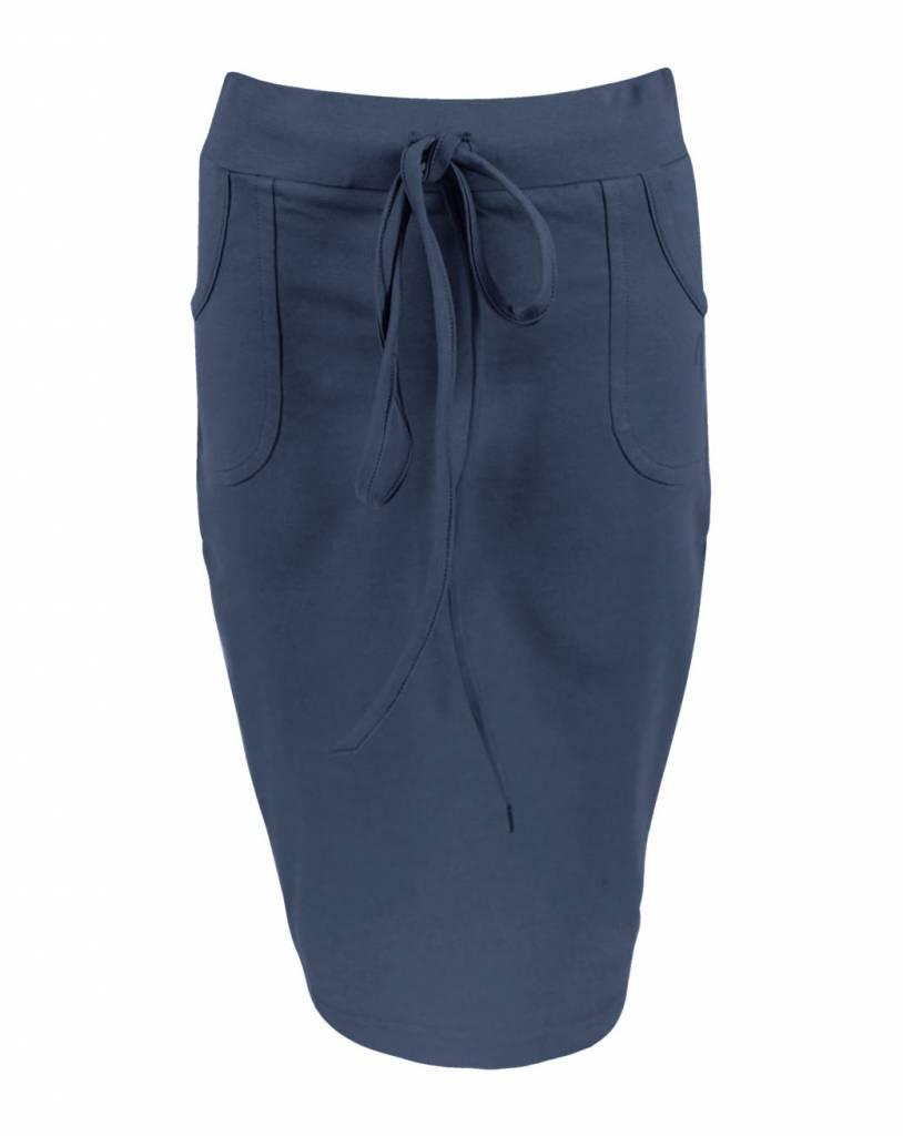 a2d3f6ffb62c9c Rok lange vrouwen Rachel Donkerblauw - LongLady - LongLady Fashion Company  BV