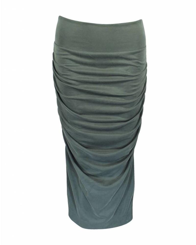 Longlady Skirt Renee Khaki