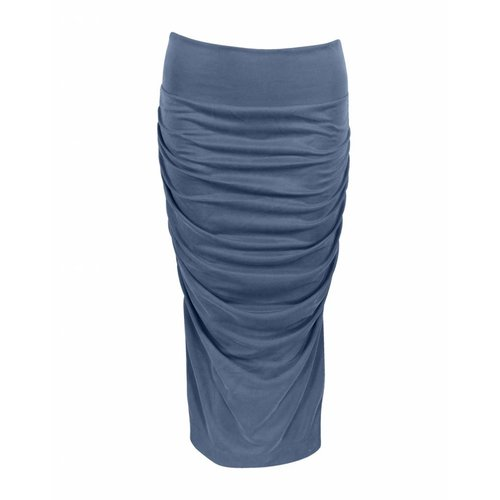 Longlady Longlady Skirt Renee Blue